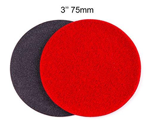 3 inch 75mm GP150 Abrasive Disc for Glass Scratch Repair COARSE GRADE pack of 10 discs