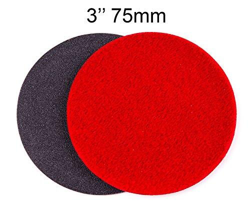 3 inch 75mm GP150 Abrasive Disc for Glass Scratch Repair COARSE GRADE pack of 50 discs