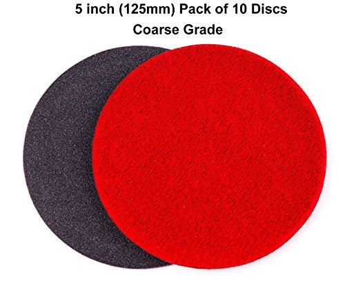 5 inch 125mm GP150 Abrasive Disc for Glass Scratch Repair COARSE GRADE pack of 10 discs