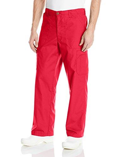 Carhartt Mens Ripstop Multi-Cargo Scrub Pant Red Large Tall
