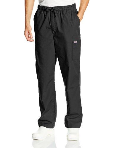 Cherokee Workwear Scrubs Mens Cargo Pant Black LargeShort