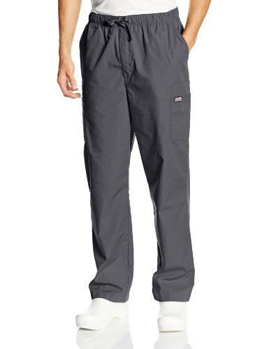 Cherokee Workwear Scrubs Mens Cargo Pant Pewter LargeTall