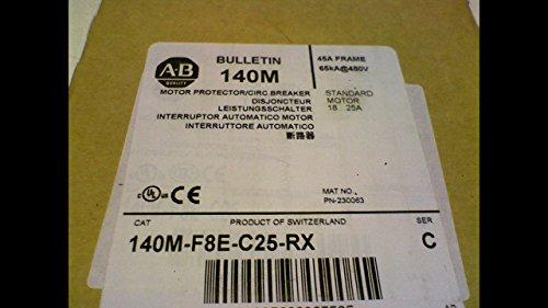 Allen Bradley 140M-F8e-C25-Rx Series C Motor Protector Circuit Breaker 140M-F8e-C25-Rx Series C