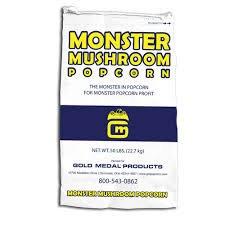 Gold Medal 2031 - 50 lb Monster Mushroom Popcorn