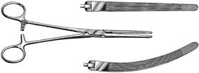 ALIMED 98FCP77-2 Rochester Carmalt Forceps 625 Straight USA