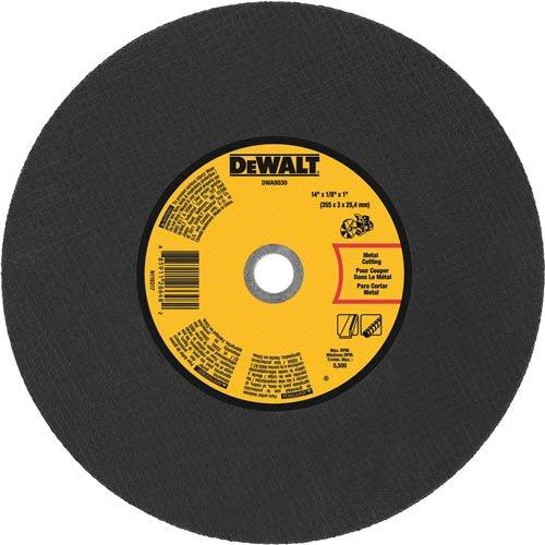 DEWALT DWA8030 Metal Port Saw Cut-Off Wheel 14-InchX 18 X 1-Inch