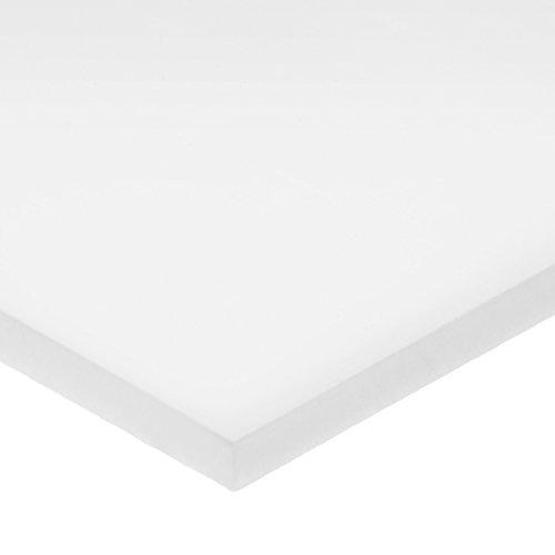 PTFE Plastic Sheet - 132 Thick x 16 Wide x 16 Long