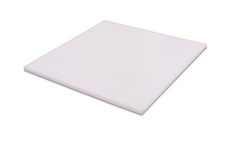 Teflon - PTFE Virgin Plastic Sheet Plate 0125 - 18 x 12 x 24