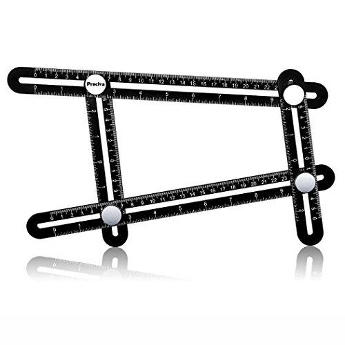 Angle-sizer Template Tool Preciva Multi-Angle Measuring Ruler Aluminum Alloy Precision Measurement Tool for Craftsmen Handyman Builders DIY