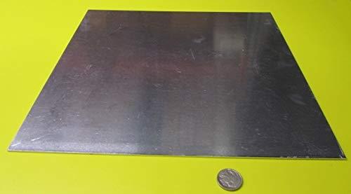 1100-H14 Aluminum Sheet062 Thickness x 12 Width x 12 Length 2 Pcs