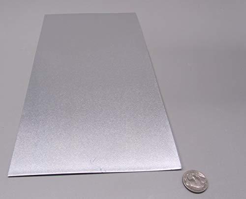 1100-O Aluminum Sheet020 Thickness x 6 Width x 12 Length 3 Pcs