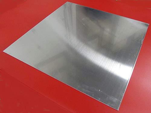 1100-O Aluminum Sheet090 Thickness x 24 Width x 24 Length 1 Pc