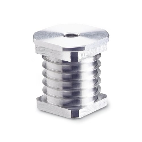 JW Winco 9925-V50-M16 Series GN 9925 Stainless Steel Square Type Threaded Tube Insert Metric Size M16 x 20 Thread Size 50mm Outside Diameter of Square