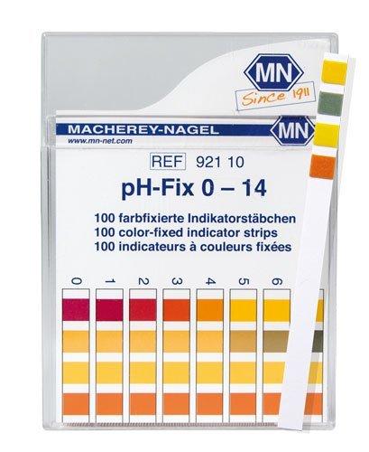 Macherey-Nagel 92110 0-14 pH Indicator Strips 100Box
