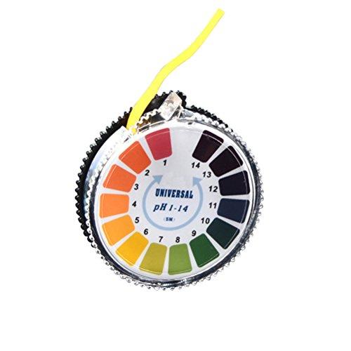 UEETEK 5 M PH 1-14 Test Paper Universal PH Indicator Paper Test Strips Roll for Liquid