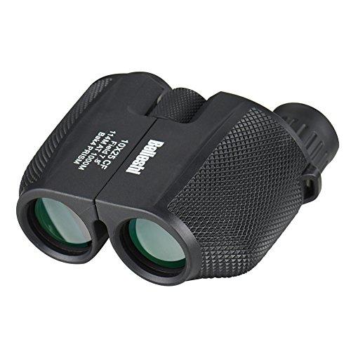 Beileshi 10x Magnifier Compact Porro Prism Binocular Telescope 10x25 Mini Scope for Camping