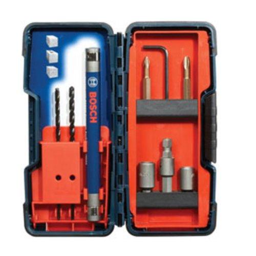 Bosch TC900 9-Piece Flat Shank Drill Bit Set