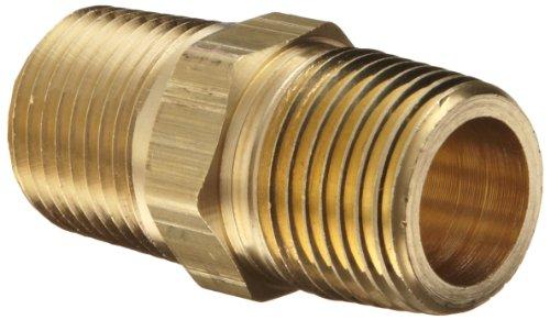 Dixon Valve Coupling BCN50 Brass Fitting Hex Nipple 12 NPT Male