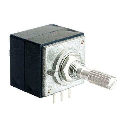 1pcsJapan ALPS Volume control potentiometer Dual 100K 6PIN