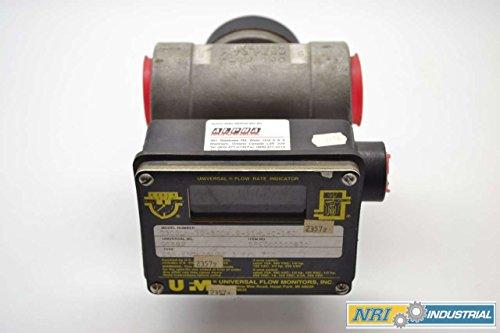 UFM 030GLM-12-300V9-A1WL-C-15D 125250480V-AC 34IN 0-30GPM FLOW METER B398191