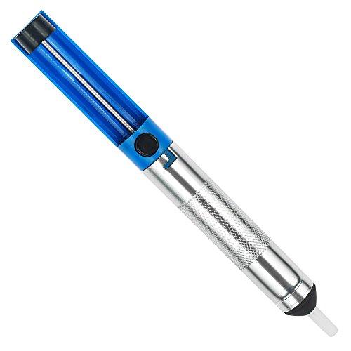 Vastar AD333 Solder Sucker Desoldering Vacuum Pump Solder Removal Tool Blue Desoldering Wick