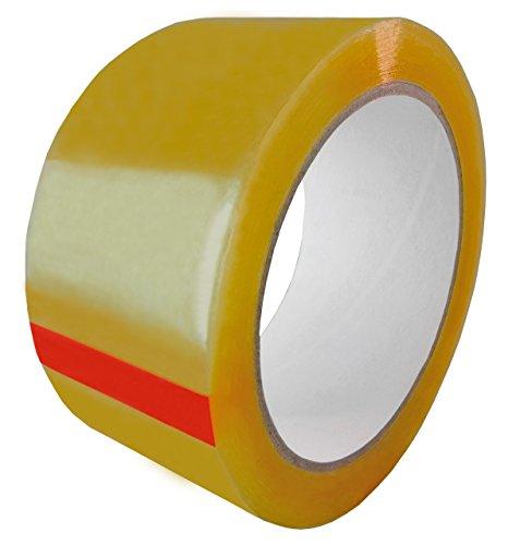 Carton Sealing Tape Natural Rubber Adhesive 3418 20 Mil 3 72mm 110 yds