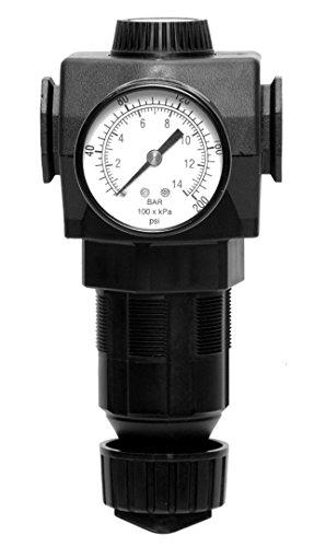 Ross Controls MD452KASB42A Regulator MD4 Series Diaphragm Valve 0-175 psig 0-121 Pressure Range Knob Adjustment No Gauge Port 1 Threaded 12 Port 2 Threaded 12 NPT