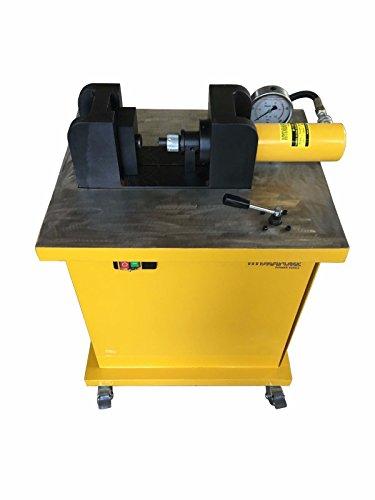 3in1 Electro-Hydraulic Busbar Hole Punch Cutter Bender Copper Aluminum M-120H