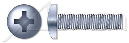 12000 pcs M3-05 X 4mm DIN 7985A  ISO 7045 Metric Machine Screws Pan Phillips Drive Full Thread Class 48 Steel Zinc Plated