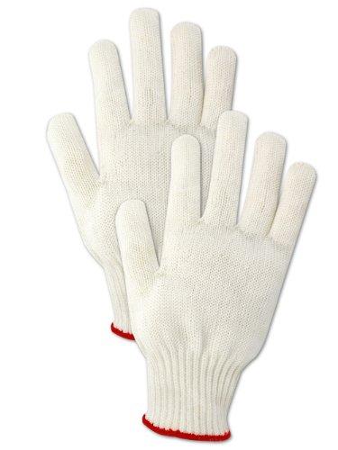Magid CutMaster SP1210 Spectra Glove Lightweight Spectra HPPESteel Blend ANSI Cut Level 3 Reversible Ambidextrous White Medium 1 Glove