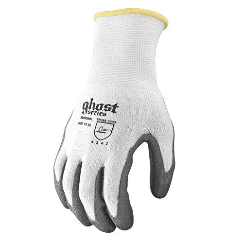 Ml Kishigo - Medium Radians Ghost Dipped Cut Level 3 Resistant Gloves Polyurethane Rwg550