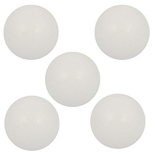 DealMux 5 Pcs High Temperature Resistant Dia 127mm PTFE Pneumatic Pump Ball White