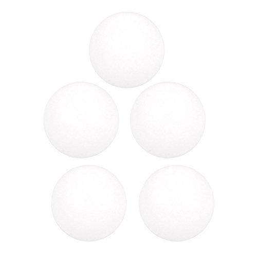 DealMux 5 Pcs High Temperature Resistant Dia 4mm PTFE Diaphragm Pneumatic Pump Ball