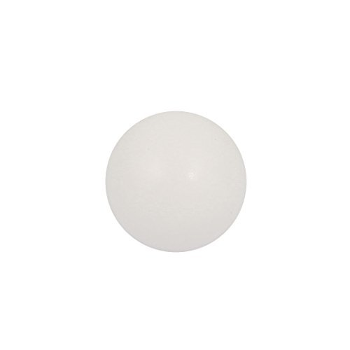 DealMux High Temperature Resistant Dia 15mm PTFE Diaphragm Pneumatic Pump Ball White