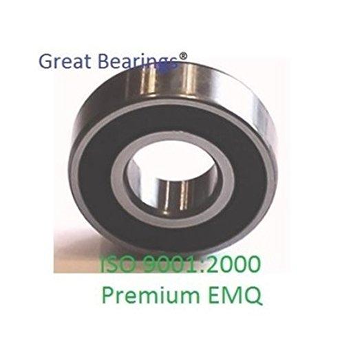 10 6001-2RS Premium 6001 2rs seal bearing 6001 ball bearings 6001 RS ABEC3