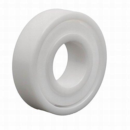 Ucland 12mmx28mmx8mm Single Side Sealed Full Ceramic Zirconia Oxide Ball Bearing 6001