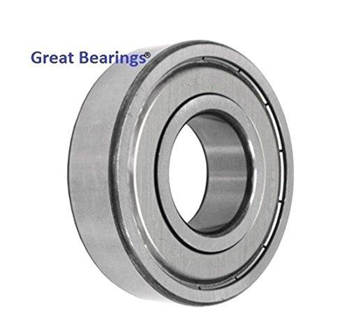 Qty2 6006-ZZ metal shields 6006Z bearing 6006 2Z ball bearings 6006 ZZ