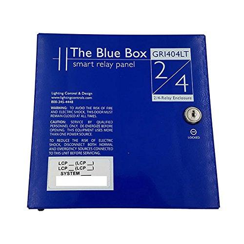 GR 1404LT – LC&D 4 RELAY BLUE BOX LIGHTING CONTROL PANEL W MODEM