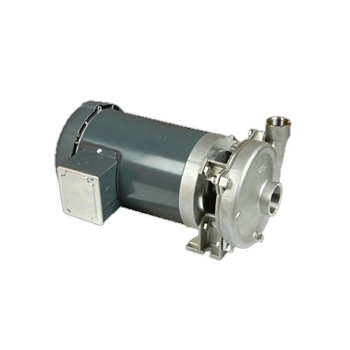 MP Pumps 039-36118 Chemflo 1 End Suction Centrifugal Pump 316 Stainless Steel Closed Couple 56C 2 hp 3 Phase Motor Carbon Silicon Carbide Seal Baldor 1-12 x 1