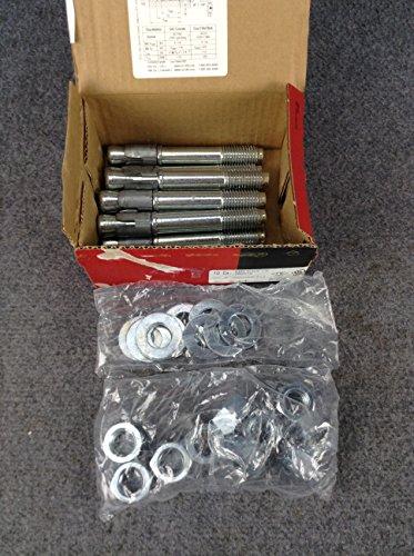 Hilti 282518 Kwik Bolt 3 Carbon Steel 10 pc KB 3 34 X 5-12 Expansion Anchor