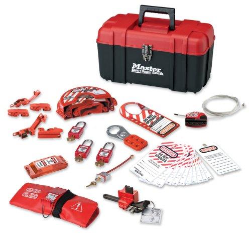 Master Lock Personal Lockout Kit Valve Elec for use with plastic locks 1457VE410KA