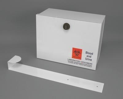 Plastic Lock Box with Over-Door Strap - Duramark Lock Boxes Therapak