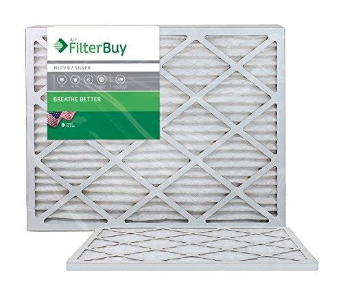 AFB MERV 8 Pleated AC Furnace Air Filter 14 x 30 x 1
