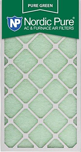 Nordic Pure 14x30x1PureGreen-3 AC Furnace Air Filters 14 x 30 x 1 Pure Green