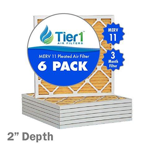 16x22x2 Premium MERV 11 Air Filter  Furnace Filter Replacement