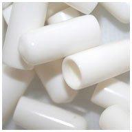WIDGETCO 38 Screw Thread Protectors White