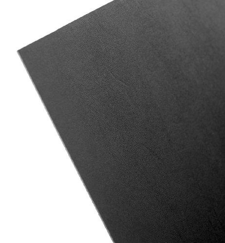 Faztek 13PA8313 Acrylonitrile Butadiene Styrene ABS Panel 48 Length x 14 Width x 96 Height Black