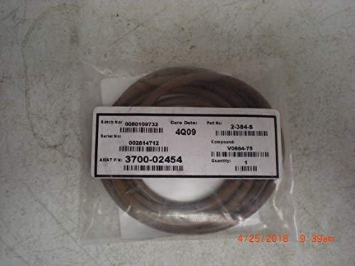 Applied Materials AMAT 3700-02454 ID 14975 CSD 210 VITON 75 Duro BRN
