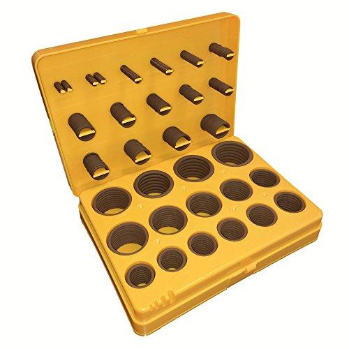 Viton O-Ring Kit Brown Viton 75A Durometer 30-Sizes Pack of 382 Pieces