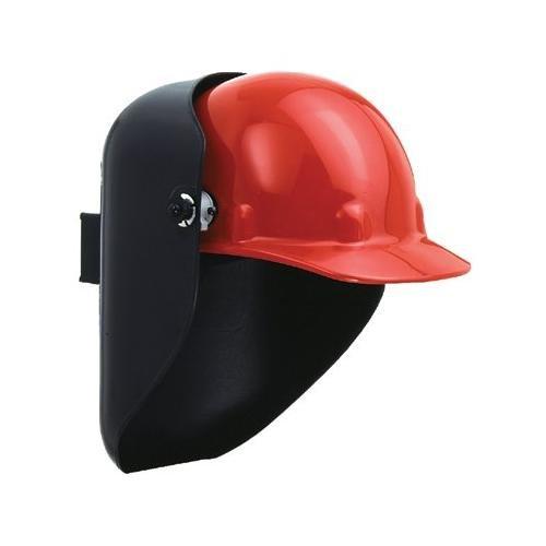 Fibre-Metal Tigerhood Futura Black Thermoplastic Helmet Assembly - Auto-Darkening Lens - 42090BK PRICE is per EACH
